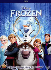 Frozen (DVD, 2014), Used, Mint Condition