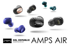 New Sol Republic AMPS AIR Full Wireless Earphone Bluetooth 4 Colors from Japan