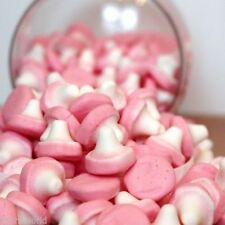** FOAM MUSHROOMS RETRO PICK N MIX SWEETS CANDY WEDDING FAVOUR 500G