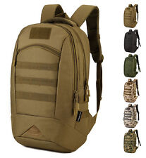Men's Nylon Military Backpack  Assault Bag Sports Outdoor camouflage backpack