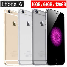Apple iPhone 6/5S/4S 16/ 64/ 128GB GSM AT&T Unlocked Smartphone All Colors KECP