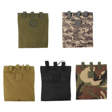Tactical Military Molle Utility Magazine Mag Ammo Dump Drop Pouch Bag