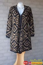 Brand New City Chic Dress - Multiple Sizes - CARDI AZTEC COL - New with tags