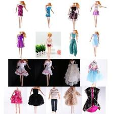 Handmade Party Dress Clothes Gown Suit for Barbie Doll Jenny Doll Kurhn Doll
