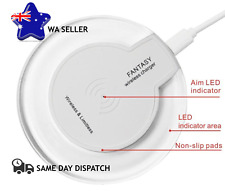 Qi Wireless Fast Charger Charging Pad for iPhone Samsung Galaxy Android Phone