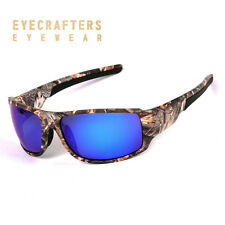 Polarized Sport Sunglasses Mens Camo Camouflage Sunglasses Fishing Cycling Golf