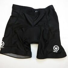 CANARI BICYCLE BIKE CYCLE CYCLING PADDED SHORTS Sz Mens S Black