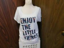 Oh Baby by Motherhood short sleeve maternity top sz XL white  NWT RV$30
