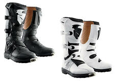 Thor Blitz CE Boots Adult Mens MX Sole Motocross Offroad White & Black All Sizes