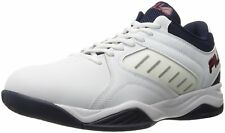 Fila BANK Mens White Navy Red High Top Athletic Basketball Sneakers Shoes
