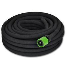 "New Flexible Soaker Hose for Watering & Irrigation Garden 1/2"" Connector 25/50 m"