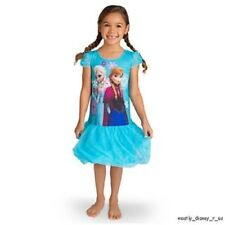 Disney Store Exclusive Frozen Elsa Anna Princess Nightshirt Nightgown Pajamas PJ