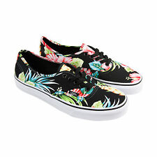 Vans Authentic Mens Multi-Color Canvas Lace Up Lace Up Sneakers Shoes