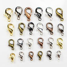 wholesale 6color Zinc Alloy Lobster Clasp  hook law Jewelry Finding Accessorie