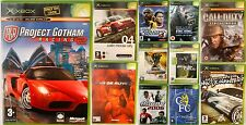 XBOX Original Video Games Action Sports Driving Fighting Racing Free Postage