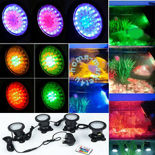 36 LED Patio Garden Underwater Fountain Aquarium Fish Tank Pond Spot Light Lamps