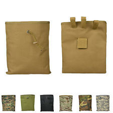 Big Airsoft Molle Tactical Hunting Magazine Mag DUMP Drop Ammo Utility Pouch WB