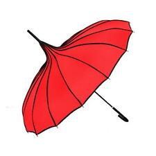 Umbrellas Retro Pagoda Umbrella Parasol Umbrella Sun Umbrella UV Protection Hook