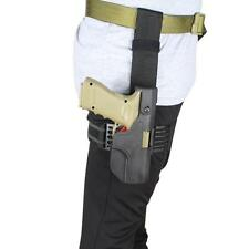 Tactical Auto Loading Holster Drop Leg Thigh Pistol Holster for Glock 17 19 23