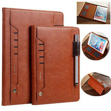 For New iPad 9.7 inch /Air 2/Mini 4 Smart Leather Folio Wallet Card Case Cover