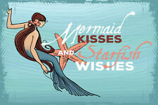 Marmont Hill 'Mermaid Kisses' Painting Print on Wrapped Canvas