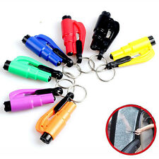 Hot Mini Safety Keychain Car Emergency Rescue Glass Breaker Hammer Escape Tool