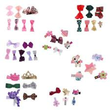 Kid Baby Sweet Multi-color Bowknot Hair Clip Accessory Girls Flower Barrette Pin