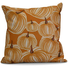 Alcott Hill® Miller Pumpkins-A-Plenty Geometric Outdoor Throw Pillow