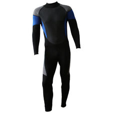 Men's Full Body Neoprene Wetsuit Surfing Kayak Sailing Snorkeling Back Zip Suit