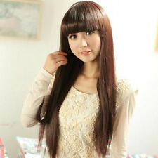 Fashion Women Fashion Sexy Party Cosplay Wigs Full Long Straight Hair Wig New