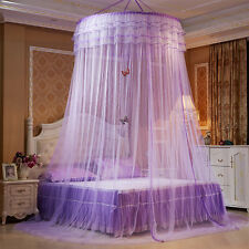 Princess Round Lace Insect Bed Canopy Bedding Netting Curtain Dome Mosquito Net