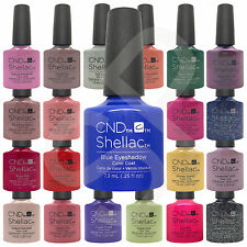 CND Shellac UV Gel 14+ Day Nail Polish CHOOSE From 111 Colours, Base or Top Coat