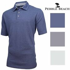 Pebble Beach Mens Performance Golf Polo Shirt