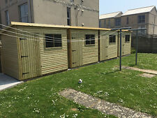 Fully Tanalised Garden Shed Pent Fully Tongue & Groove throughout Heavy Duty