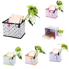 Foldable Home Storage Box Household Organizer Fabric Bin Basket Container
