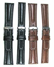 BRAND NEW Genuine Leather Quality Range Padded Straps W/Long Straps L926