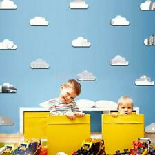 Creative Clouds Wall Art Mirror Stickers Kids Bedroom DIY Home Decoration