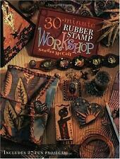 30 Minute Rubber Stamp Workshop by Sandra McCall (2003, Paperback)