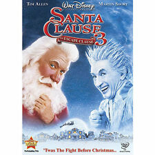 Santa Clause 3: The Escape Clause (DVD) Tim Alen/Martin Short-Walt Disney