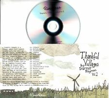 DARREN HAYMAN Thankful Villages Volume 2 2017 UK 18-trk promo test CD