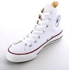 Converse Chuck Taylor All Star Optical White High Top Boots Trainers Women Men