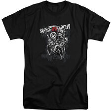 Sons Of Anarchy Reaper Logo Mens Big and Tall Shirt