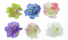 Small flower hair clip and brooch pin,wear in your hair or on your jacket
