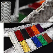 Genuine Leather Python Snake Skin Phone Case Cover For iPhone 6/6s/7 plus