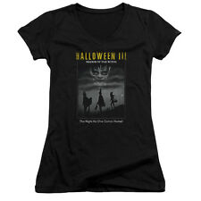 Halloween Iii Kids Poster Juniors V-Neck Shirt