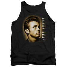 Dean Sepia Portrait Mens Tank Top Shirt