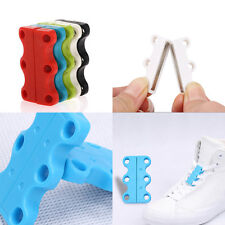 1 Pair Sneaker Novelty Closure No-Tie Casual Shoelace Shoe Buckles New