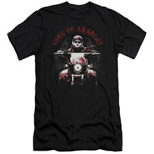 Sons Of Anarchy Ride On Mens Slim Fit Shirt
