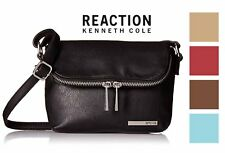 Kenneth Cole Reaction Womens Fold Over Mini Crossbody Bag