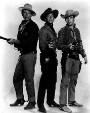 Rio Bravo Group Portrait in Black and White High Quality Photo